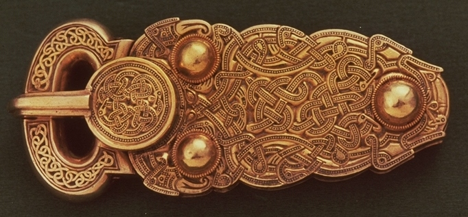 The great gold buckle (© Trustees of the British Museum)